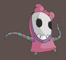 skull girl by kangarookid