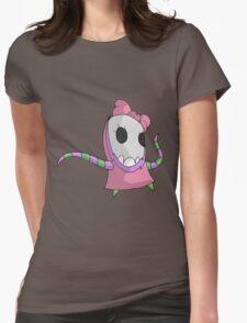 skull girl Womens Fitted T-Shirt
