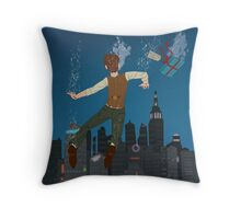 The Impossible City Throw Pillow
