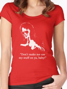 Bubba Ho-Tep #1 Women's Fitted Scoop T-Shirt
