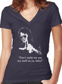 Bubba Ho-Tep #1 Women's Fitted V-Neck T-Shirt