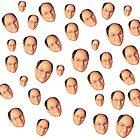 George Costanza Heads by CloverFi