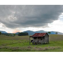 Little House on the Prairie - near Boonah Qld Photographic Print
