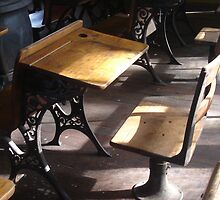 Old School Desk by DreamCatcher/ Kyrah Barbette L Hale