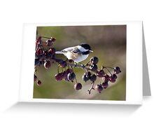 My little chickadee Greeting Card