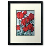'Tulips' Framed Print
