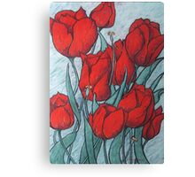 'Tulips' Canvas Print