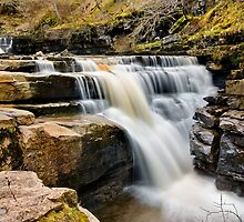 Kisdon Force, Keld by Steve  Liptrot
