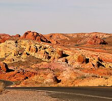 Valley of Fire (3) by Gili Orr
