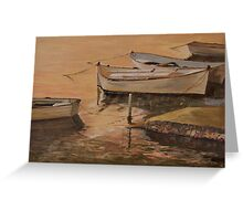 Boat for Hire Greeting Card