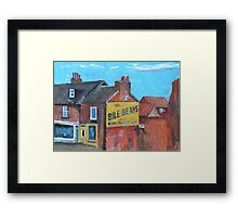 York, Bile Beans Gable Framed Print