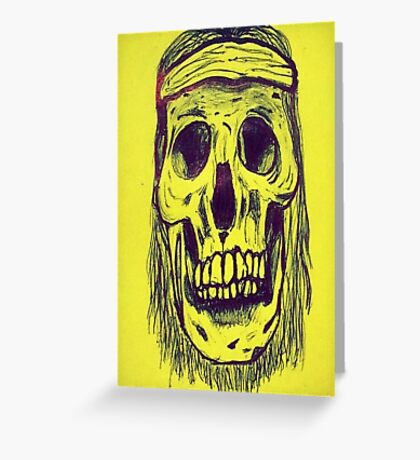 The Skull Greeting Card
