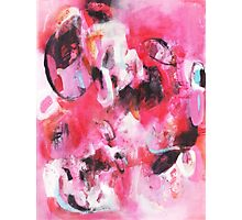 pink abstract Photographic Print