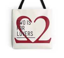 2 IS FOR LOVERS - TYPOGRAPHY EDITION - GARAMOND Tote Bag