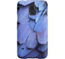Blue Feathers Samsung Galaxy Case/Skin