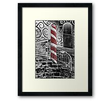 Gingerbread Castle Framed Print