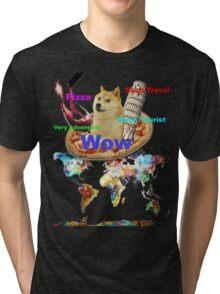 Doge Italy Tri-blend T-Shirt