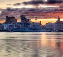 Liverpool Sunrise by William Lee