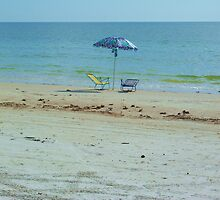 Chairs on the Beach by StudioN