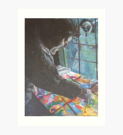 Lance Green.... a portrait of Art Print