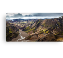 ICELAND:THE LOST VALLEY Canvas Print