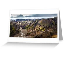 ICELAND:THE LOST VALLEY Greeting Card