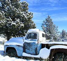 my '51 International pickup by boondockMabel