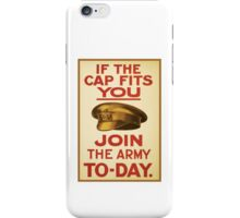 'Join the Army' Wartime Vintage Poster iPhone Case/Skin