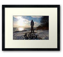 Sun Worshiper Framed Print