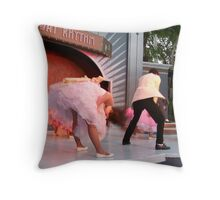 Beautiful Flashback Blurr Throw Pillow