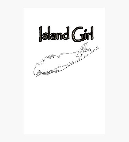Long Island Girl Photographic Print