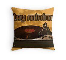 play minimal Throw Pillow