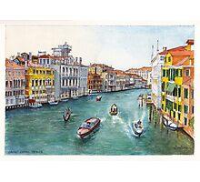 Grand Canal Venezia Photographic Print