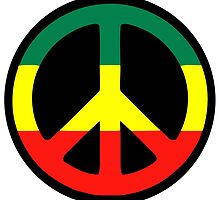 Rasta Peace by notonlywaves