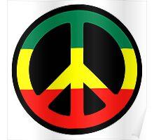 Rasta Peace Poster