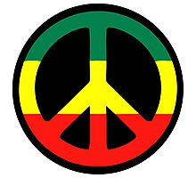 Rasta Peace Photographic Print