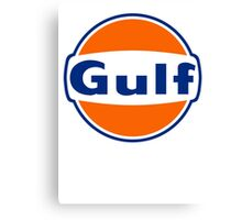 GULF OIL VINTAGE Canvas Print