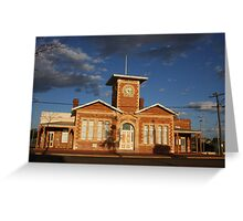 Menzies Townhall Greeting Card