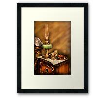 The Gas Lamp Framed Print