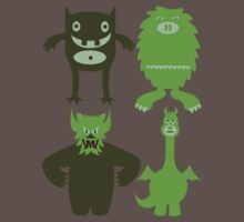 Monster Friends by designbyzach