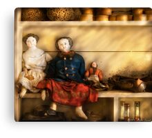 Assorted Dolls Canvas Print