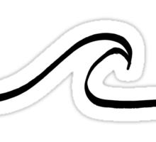Minimal Wave Sticker