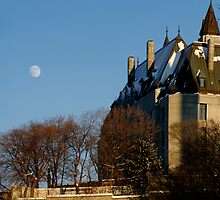 A Late Winter Afternoon Behind Parliament by Max Buchheit