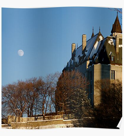 A Late Winter Afternoon Behind Parliament Poster