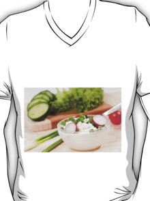 cottage cheese with radish T-Shirt