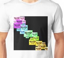 Butterfly Rainbow Unisex T-Shirt