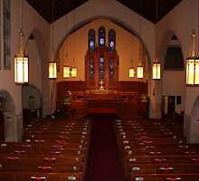 Interior Of Grace UMC by Cynthia48