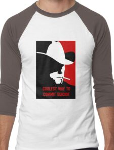 Coolest way to commit suicide Men's Baseball ¾ T-Shirt
