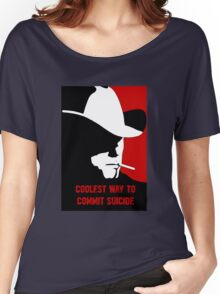 Coolest way to commit suicide Women's Relaxed Fit T-Shirt