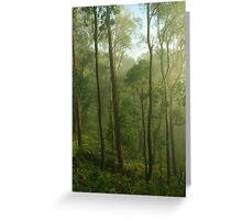 a mist that lingers longer Greeting Card